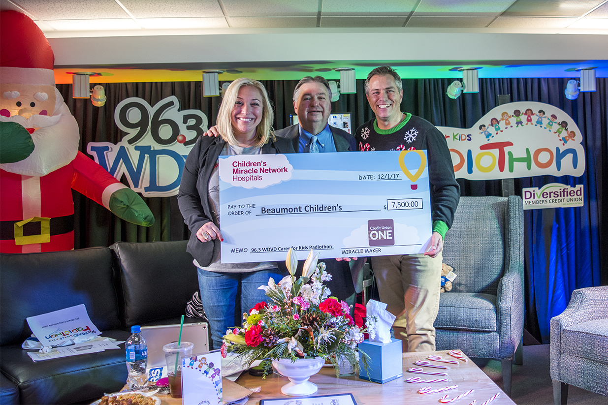 image to support article about Credit Union ONE Partners With Beaumont for Radiothon