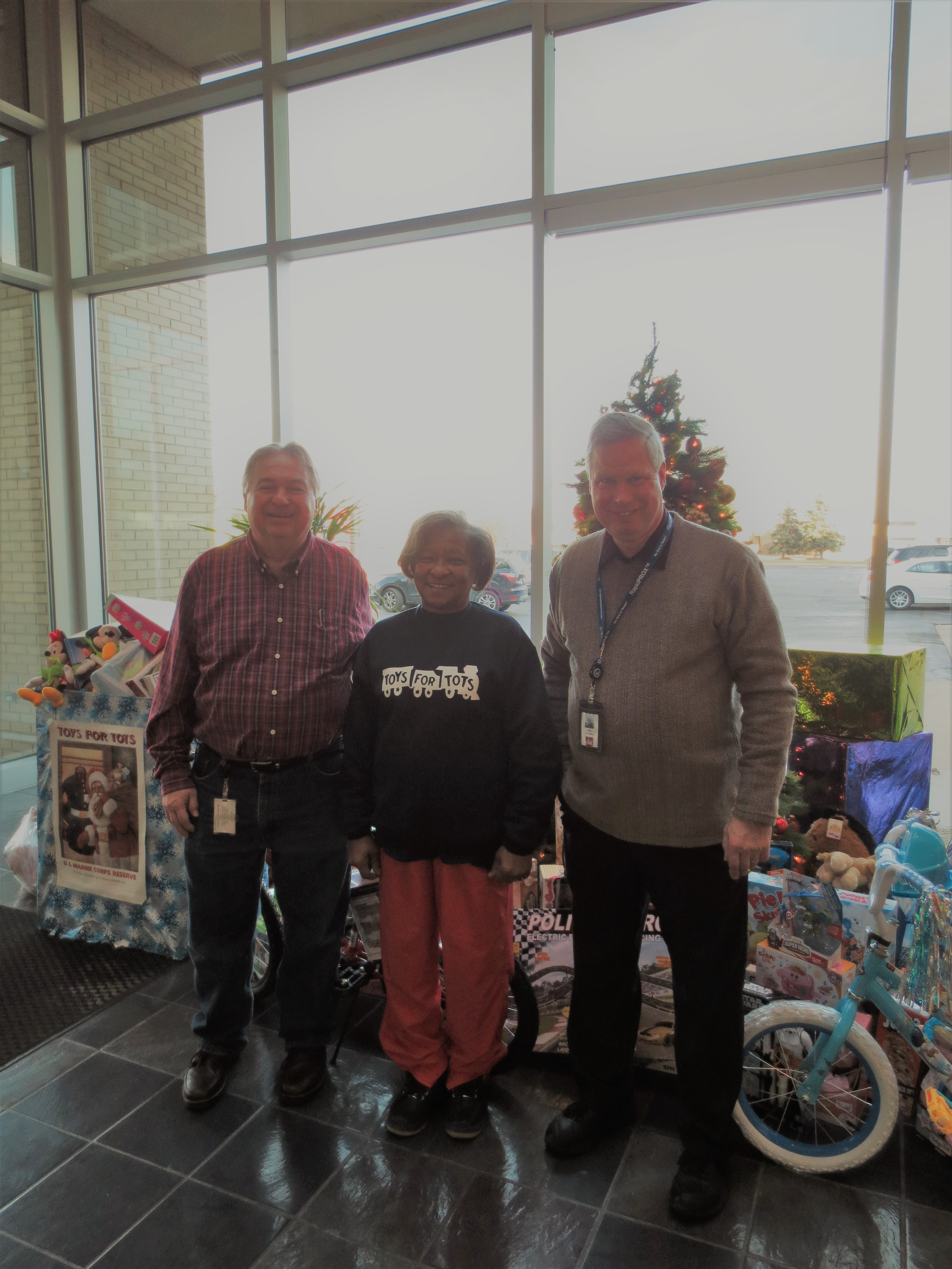image to support article about Credit Union ONE collects for Forgotten Harvest and Toys For Tots