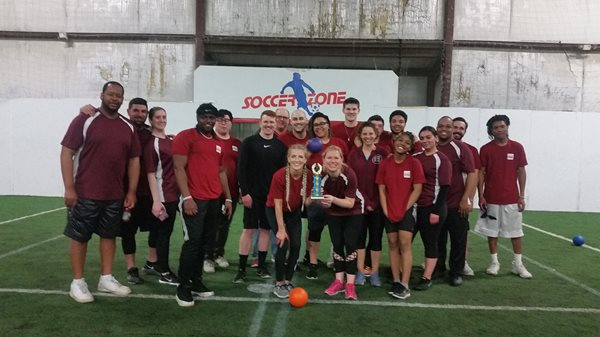 image to support article about Credit Union ONE Participates in Fundraising Dodge Ball Tournament